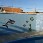 Apliques de Mosaico para Piscina