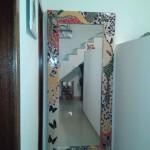 Espelho de chão em Mosaico