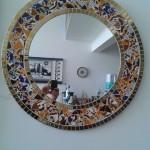 Espelho de Mosaico Redondo