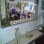 Espelho e Aparador em Mosaico