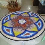 Mandala em Mosaico para Piso e Parede