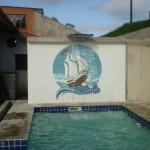 Mosaico para Piscina Caravela Pixel