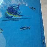 Mosaico para Piscina Marlim