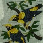 Mosaico Pássaros