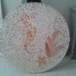 painel de Mosaico Cavalo Marinho