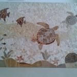 Painel de Mosaico Marinho