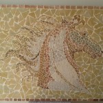painel de Mosaico Cavalo