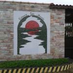 Painel de Mosaico para Condomínio