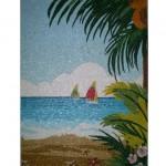 Painel em Mosaico Havaí
