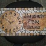 painel em Mosaico para área de Churrasqueira