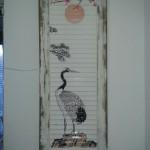 pintura Rústica Estilo Oriental