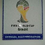 Placa da Fifa em Mosaico