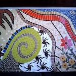 Quadros em Mosaico Abstrato