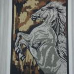 Quadro em Mosaico Cavalo Árabe