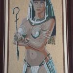 Quadro em Mosaico Egípcia