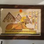 Quadro em Mosaico Esfinge Egito