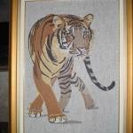 Quadro em Mosaico Tigre